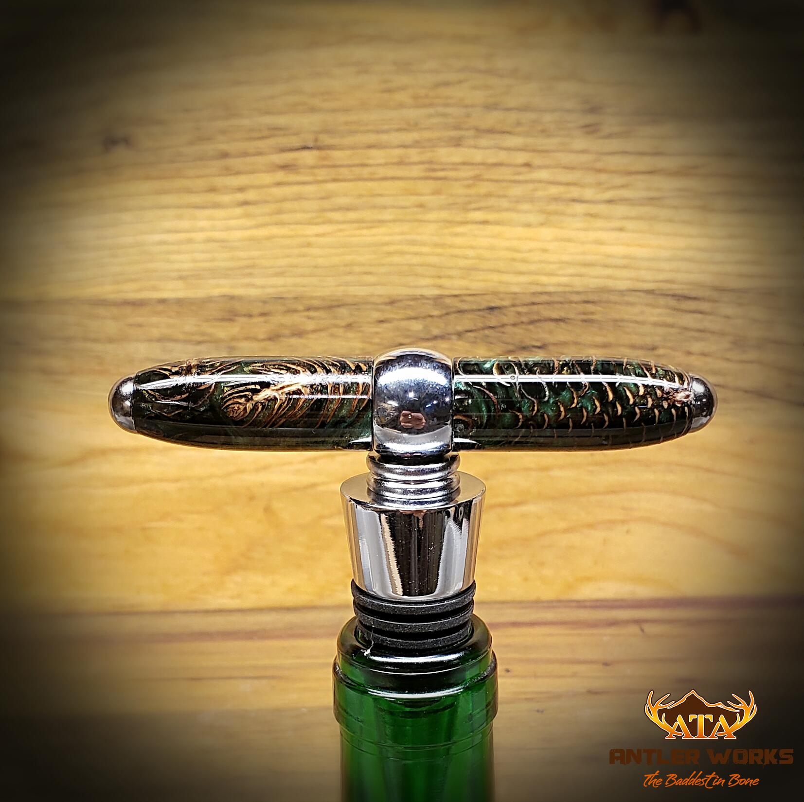 Green Wine Stopper