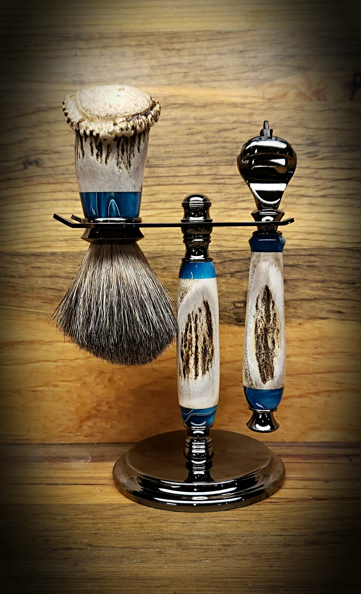 Razor Kit Set Blue Antler