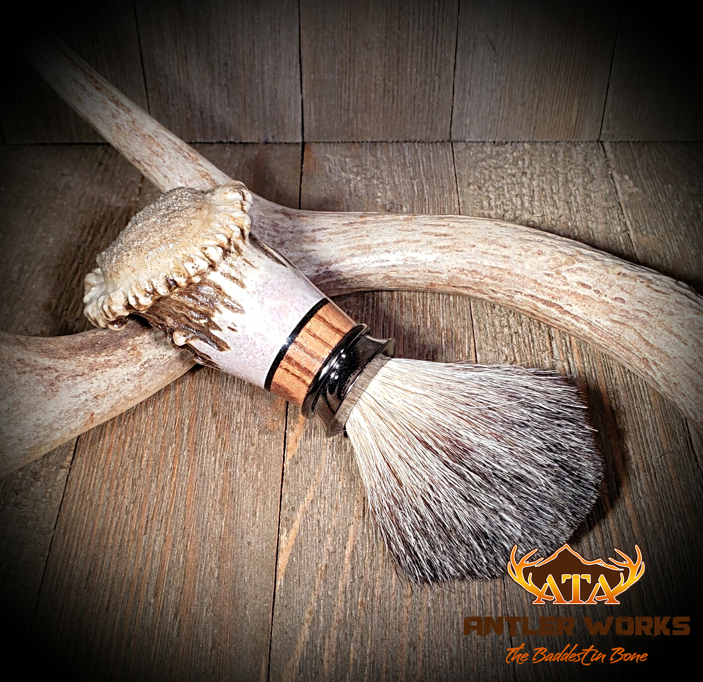 Deer Antler Shave Brush copy