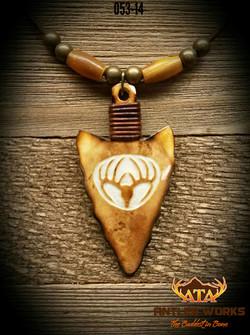Hancarved-Antler-Necklace