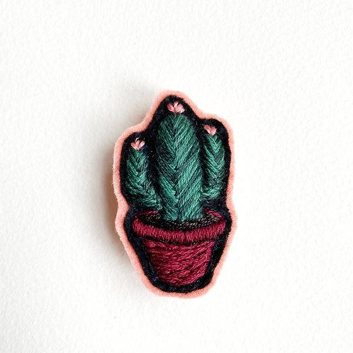 Cactus Brooch 19-03