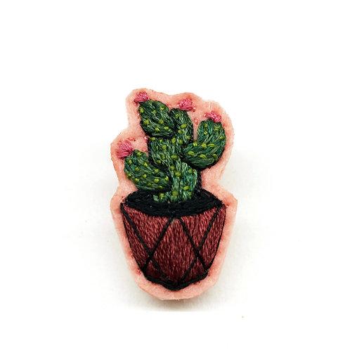 Cactus Brooch 19