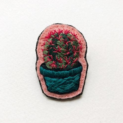Cactus Brooch 07