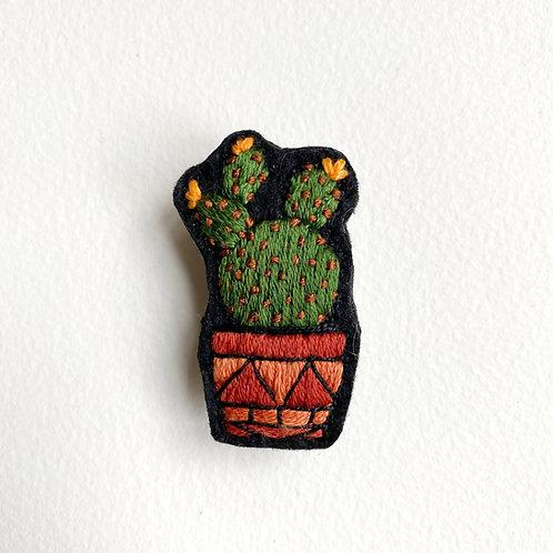 Cactus Brooch 19-01