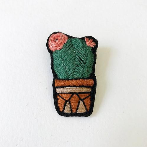 Cactus Brooch 08