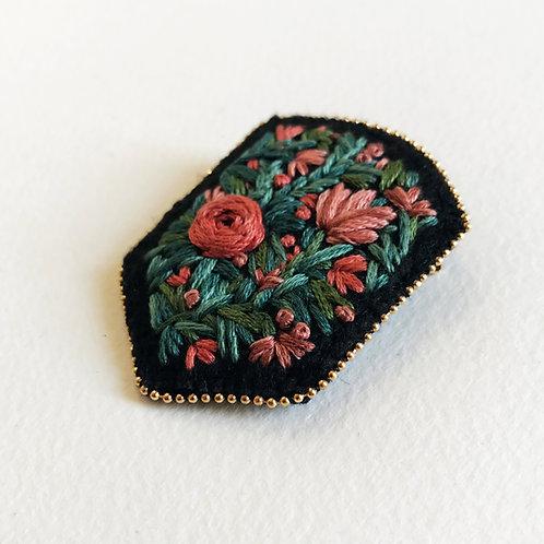 Floral Badge