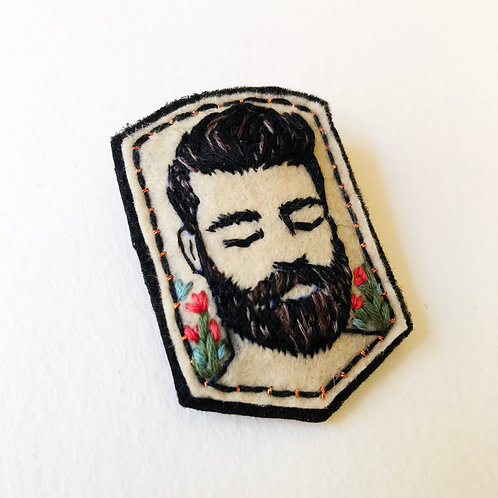RESERVED - Bearded man