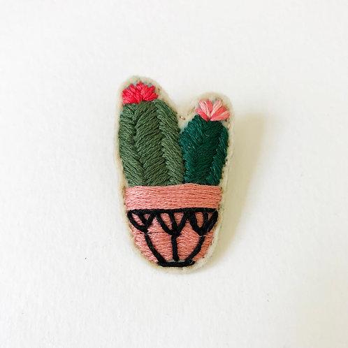 Cactus Brooch 05