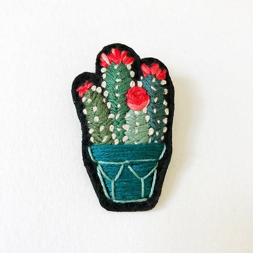 Cactus Brooch 01