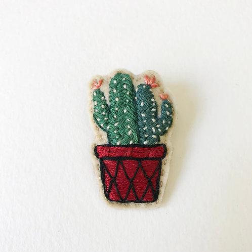 Cactus Brooch 04