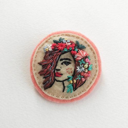 RESERVED - Floral Girl 07