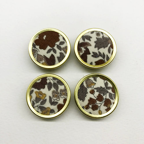 Fabric covered buttons15