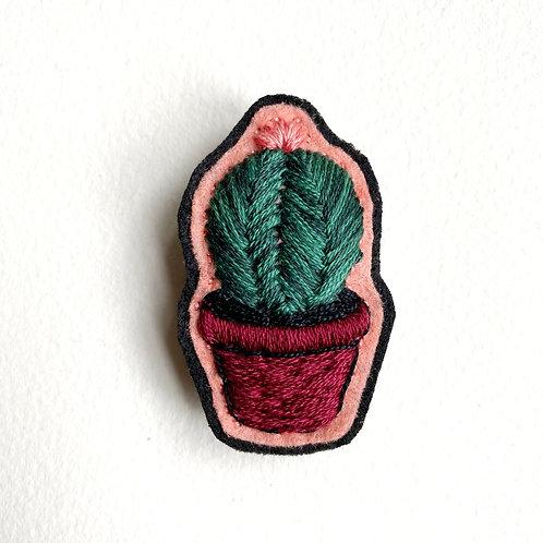 Cactus Brooch 19-04