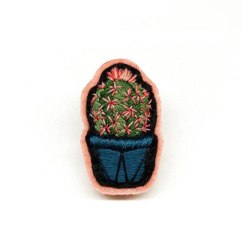 Cactus Brooch 14
