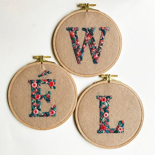 Custom Initials for Lia