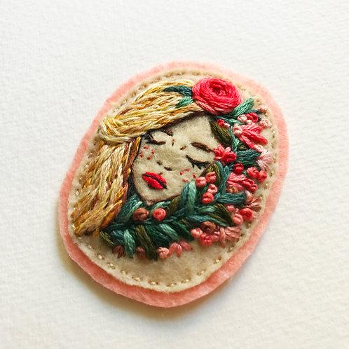 CUSTOM ORDER for Nora /Botanical Girl Patch