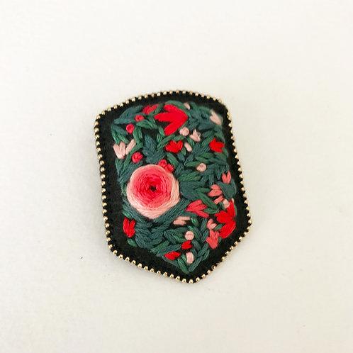 Floral Badge 02