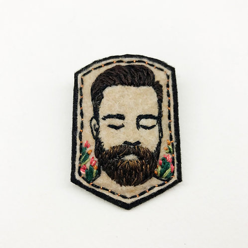 RESERVED for Brooke - Bearded man