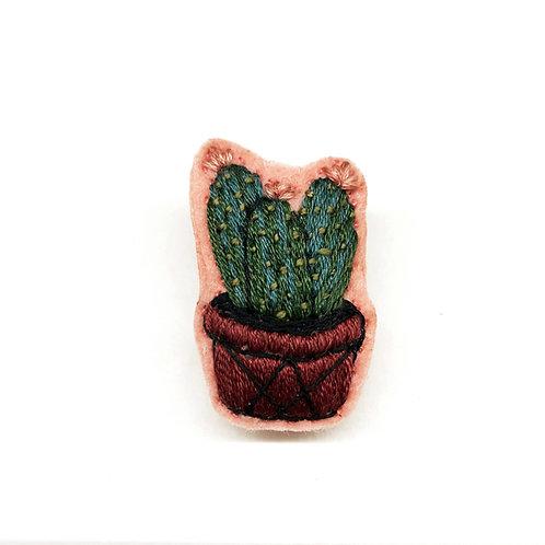 Cactus Brooch 16