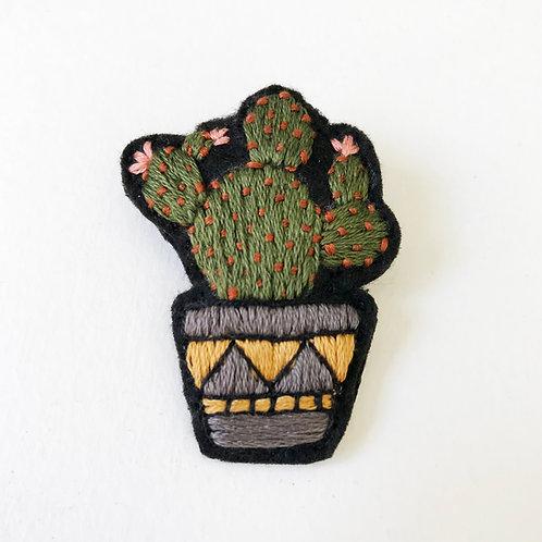 Cactus Brooch 10