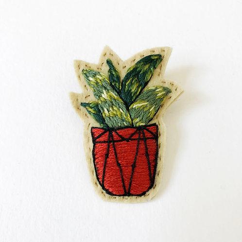Cactus Brooch 03