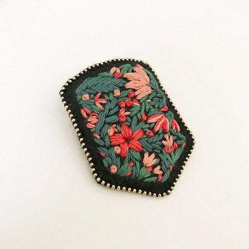 Floral Badge 03