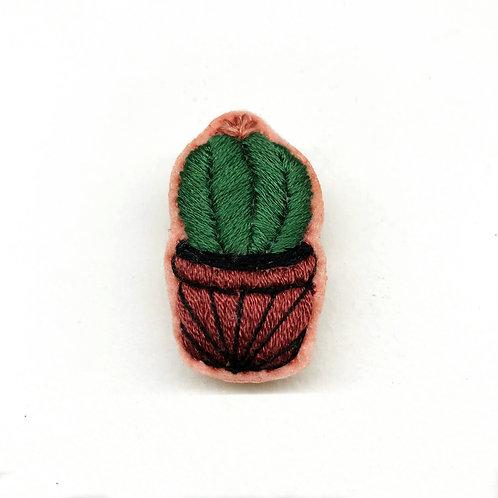 Cactus Brooch 15