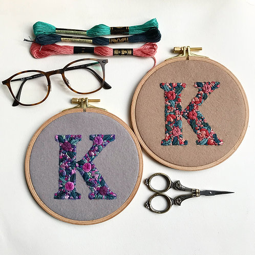 Made to Order - Custom Initial Embroidery