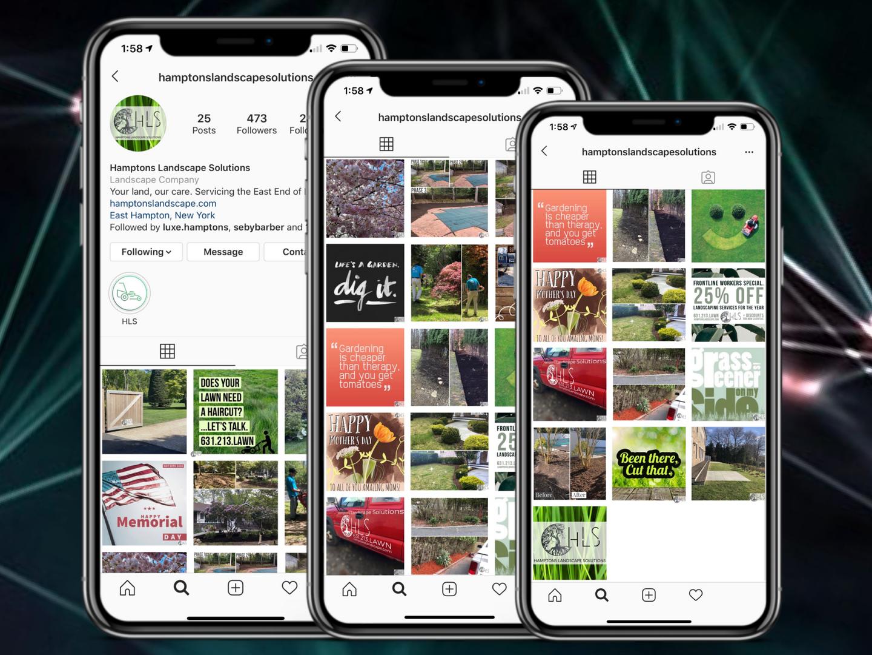 Hamptons Landscape Solutions Instagram