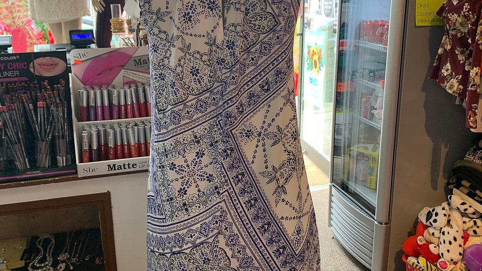 Classic Hamptons Sleeveless Dress
