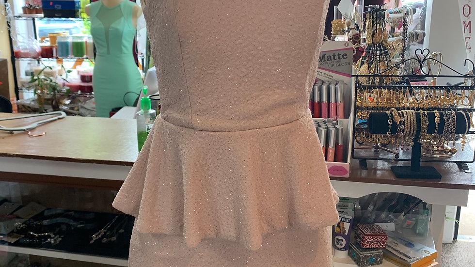 Women's Light Pink Cocktail Dress