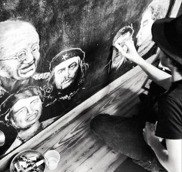 brandon drawing heroes