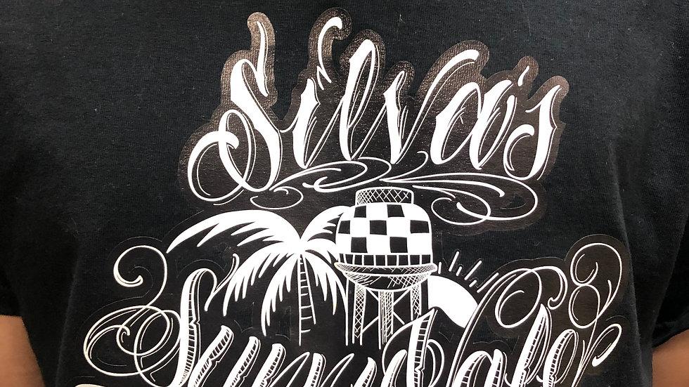 Silva's Tattooing Black/white Tee