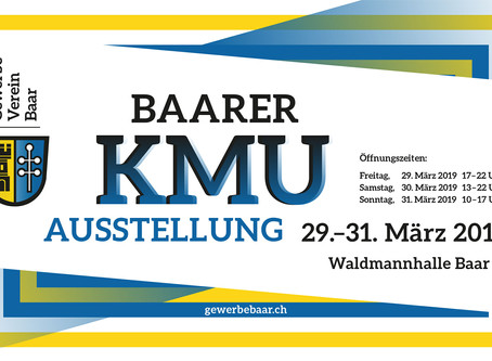 Baarer KMU Ausstellung - wir kommen