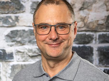 Willkommen in unserem Team:  Peter Voser