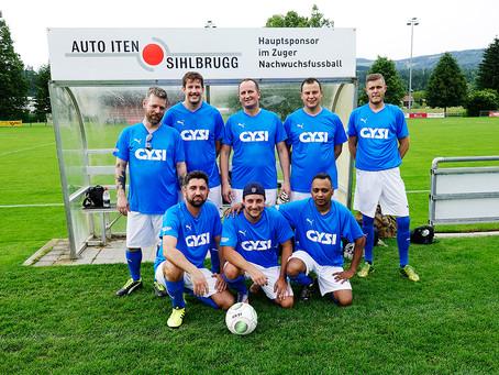 Dorfturnier Baar 2019 - FC Gysi ein Team auch beim Fussball