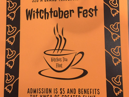 Witchtober is almost upon us: Save The Date!
