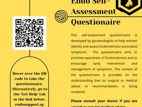 Endometriosis Self-Assessment 🎗