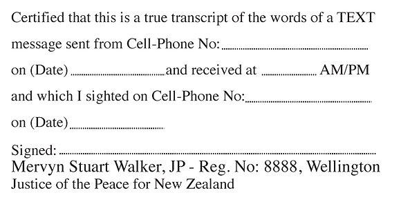 #20 Text Message Transcript (4926)