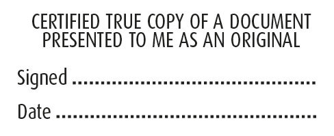 #1 Certified Copy