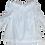 Thumbnail: Raw Ruffle Top (White Linen)