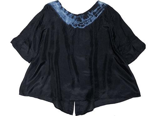 Minori Silk Top (tie dye2)