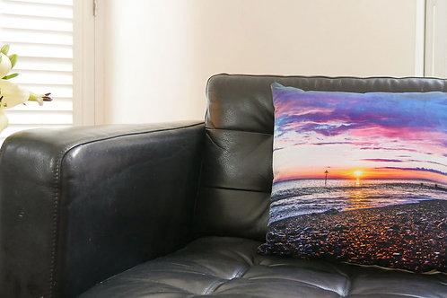 Tywyn Purple Beach Sunset