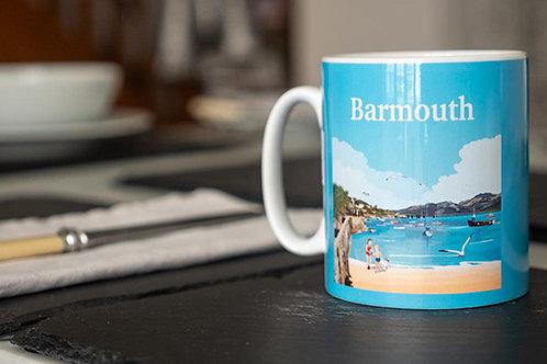 Barmouth Beach Mug