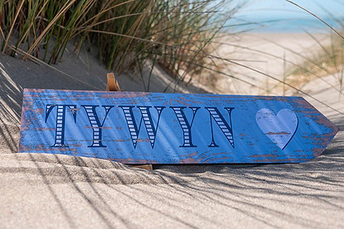 Tywyn Heart Sign