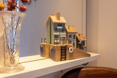 Wooden Seaside Houses