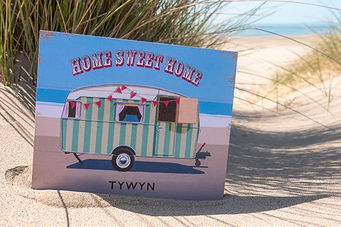 Home Sweet Home Tywyn Sign