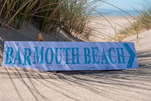 Barmouth Beach Sign