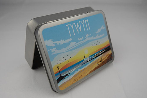 Tywyn Sunset Tin Box