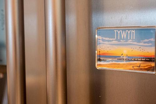Tywyn Plastic Fridge Magnet